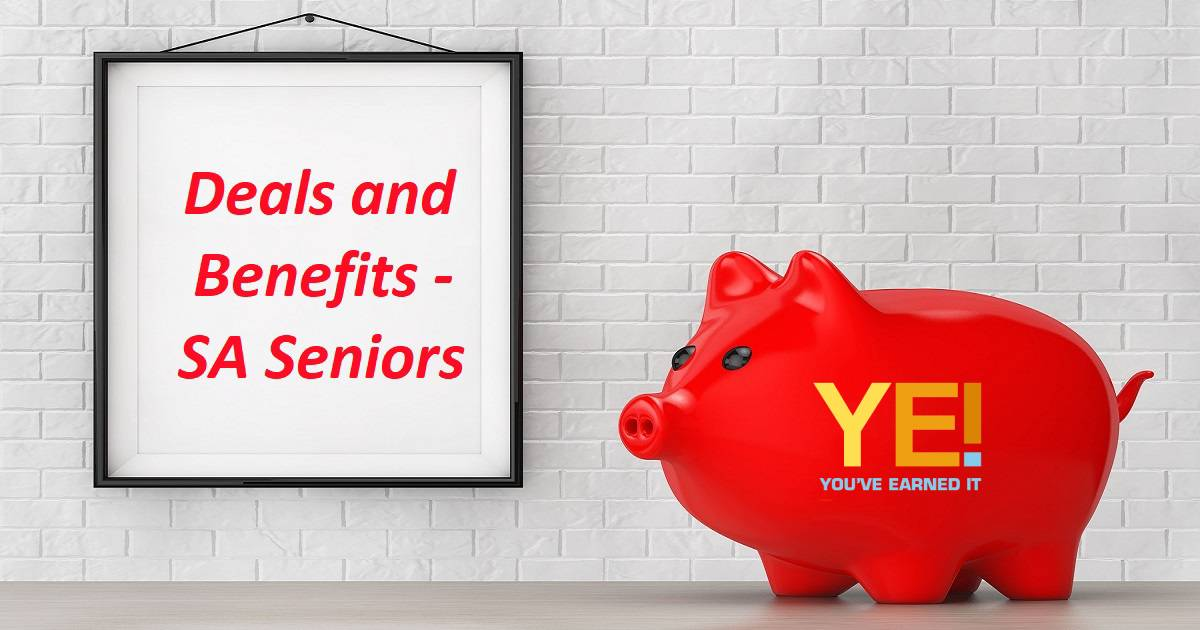 Deals and benefits for SA seniors