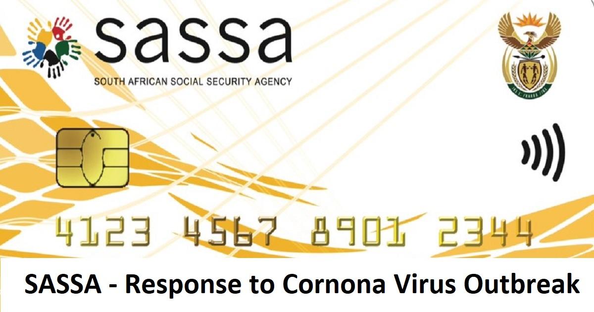 SASSA Corona Virus