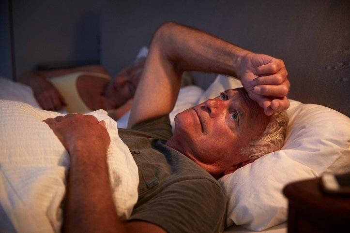 insomnia - senior man