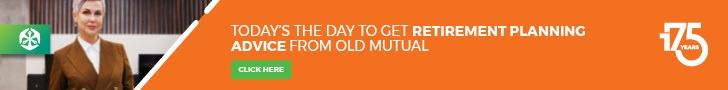 Old Mutual – Adspace A – YEI Retirement page