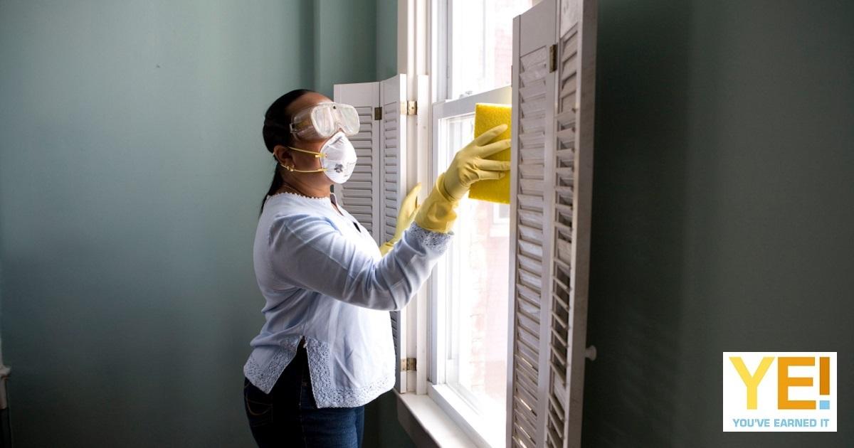Clicks coronavirus cleaning