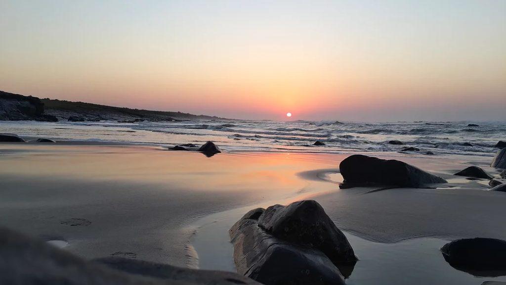 Wild Coast sunset
