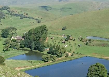 elandskloof trout farm view