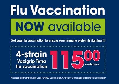 Clicks flu vaccination