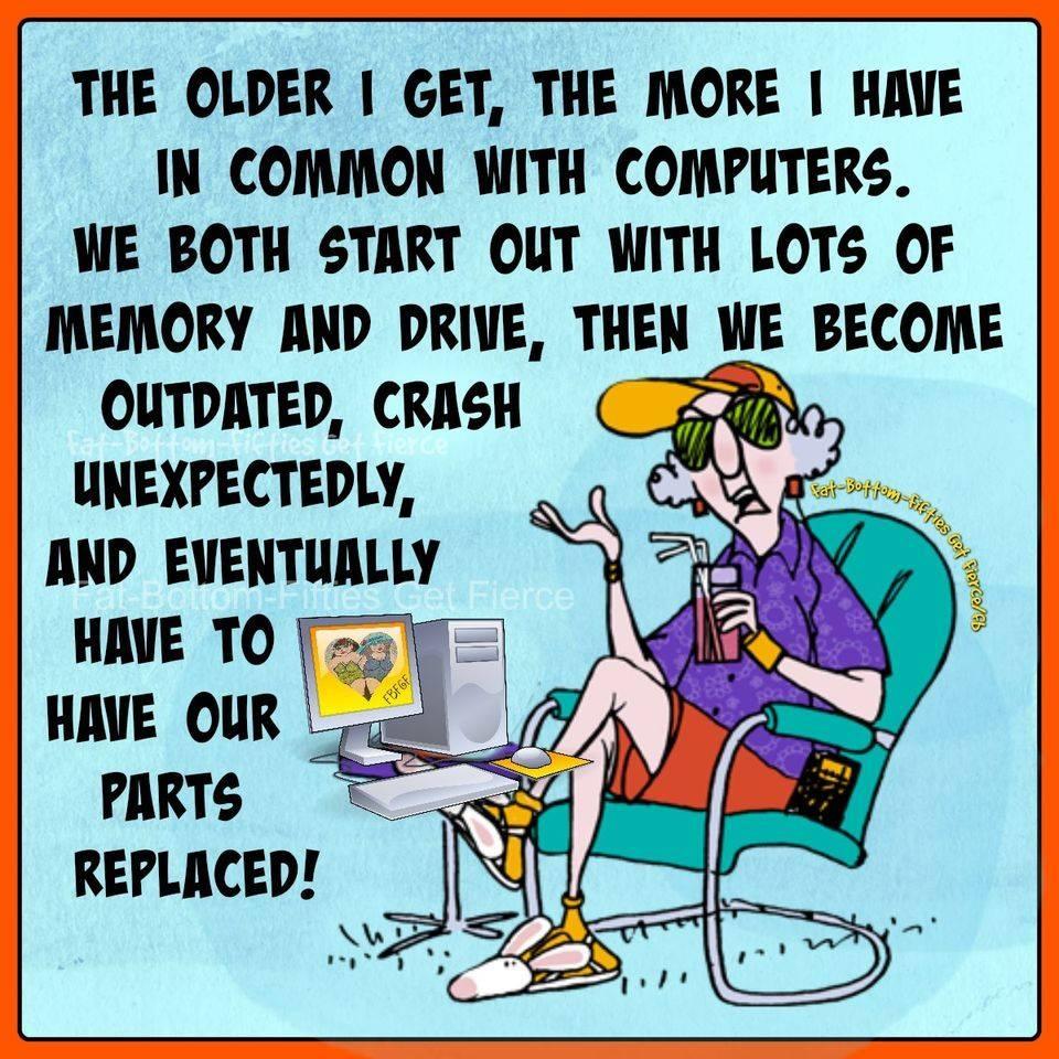 Senior humour
