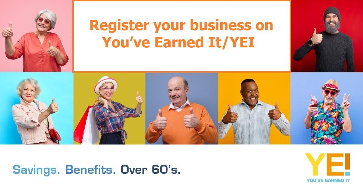 Register your business on YEI 1200
