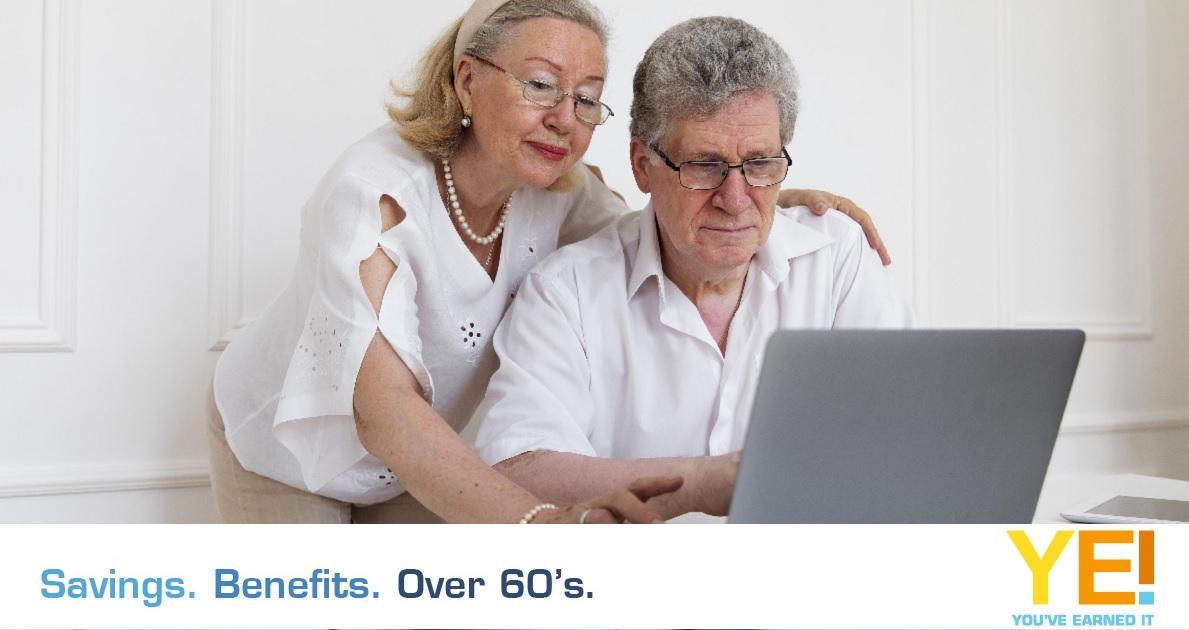 senior couple with laptop 2